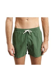 The Dude Embroidered Swim Shorts