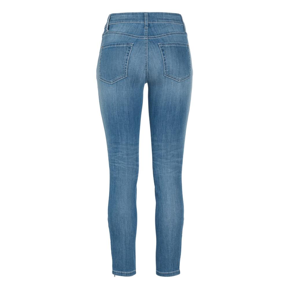 Blue Parla zip jeans | Cambio | Jeansy dopasowane - Najnowsza zniżka tOUUB