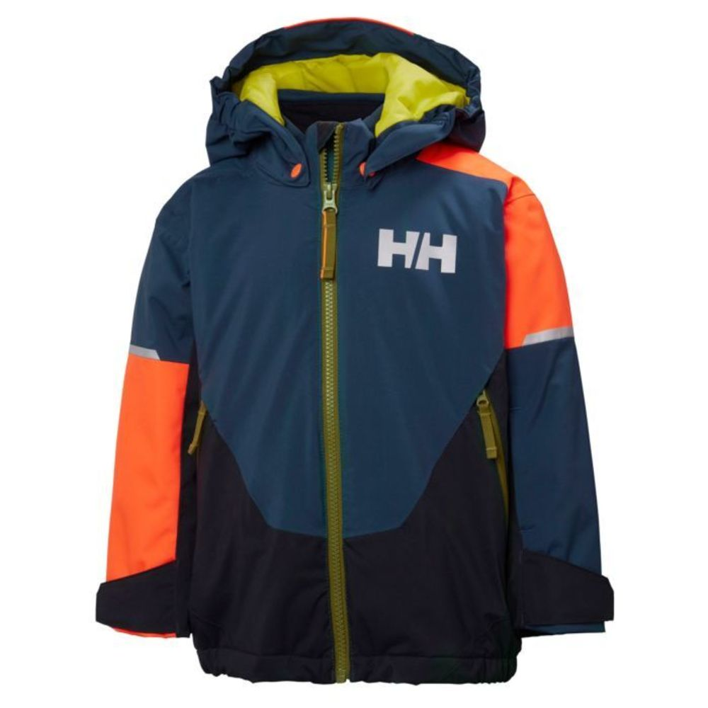 f9c15a39 Helly Hansen Marineblå Helly Hansen K Riders INS Jakke Barn Dark Teal