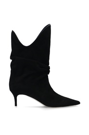 Tote heeled ankle boots