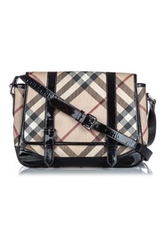 Nova Check Coated Canvas Crossbody Bag