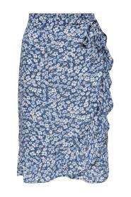 Onlfuchsia B.K Wrap Skirt