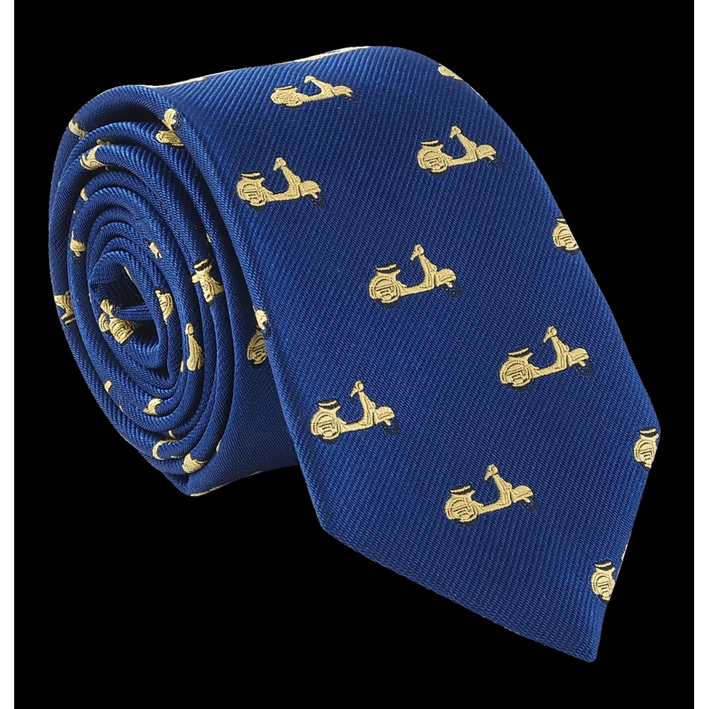 Golden Scooter Tie