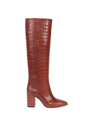 EMBOSSED CROCO BOOTS