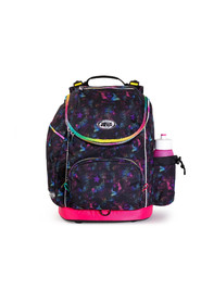 U-turn school bag with ergonomic back