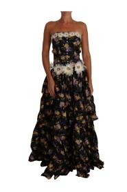 Sartoria Ball Floral  Crystal Dress