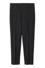 Emma Cropped Cool Wool Trouser Bukser