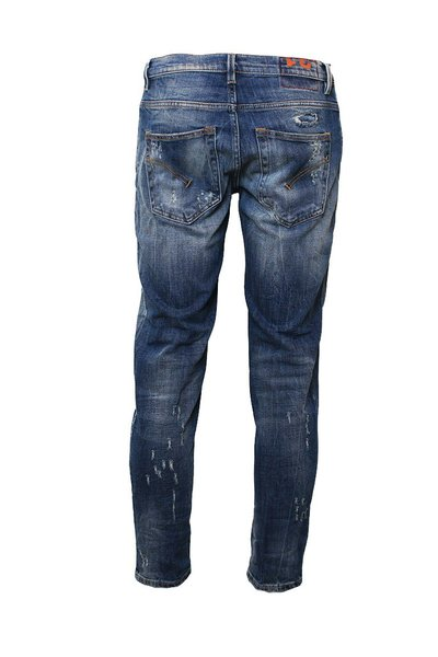Blue Brighton Carrot Fit Jeans Dondup Jeansy Regular