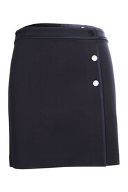 Pre Owned Skirt With Buttons Embellishments