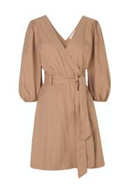 Phoebe Wrap Short Dress
