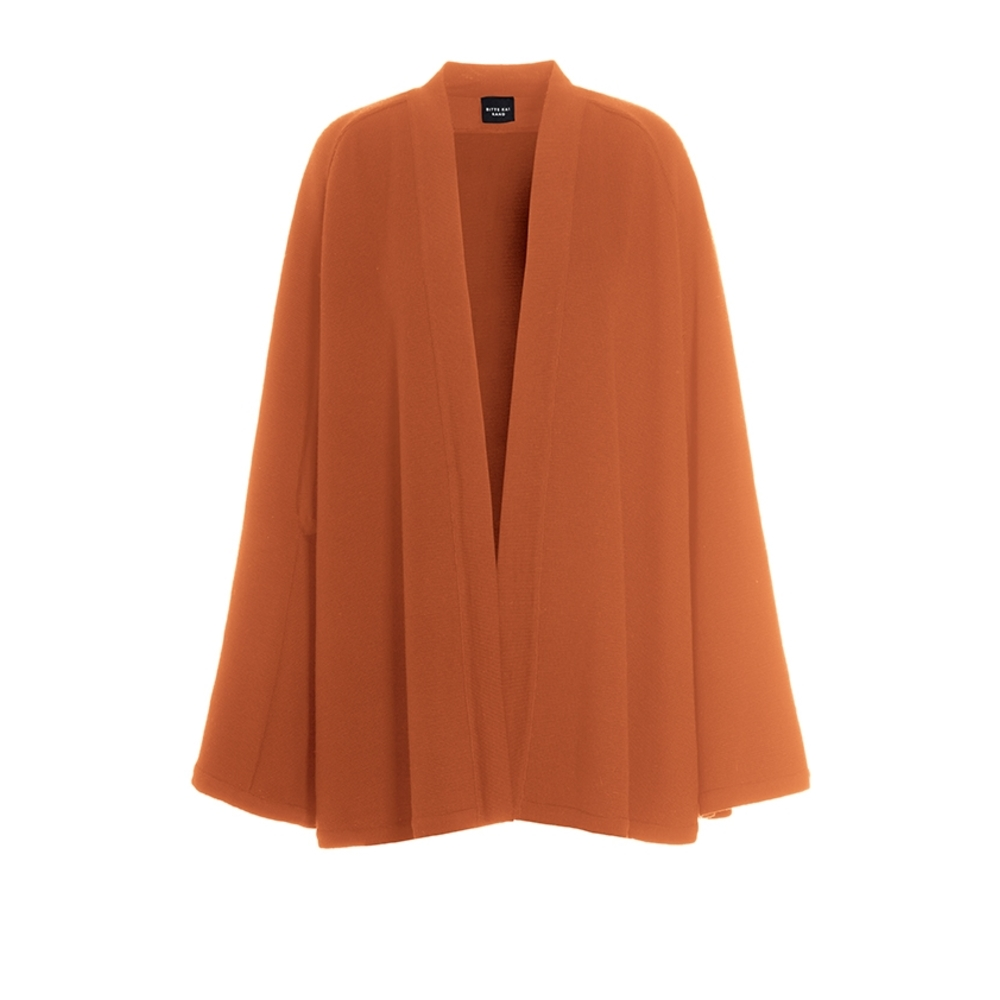 WILLOW WOOL CAPE