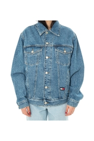 CREST FLAG TRUCKER JEANS JACKET