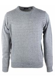 Sweater with jacquard dots