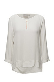 In Wear Mili Zip Blus White Smoke