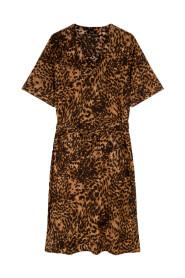 Crinkle dress animal - 2105334056-601