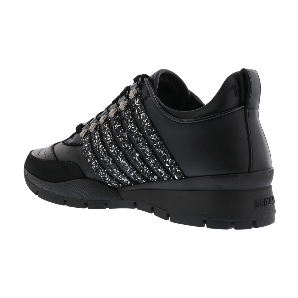 Dsquared2 Black Low Top Sneakers Dsquared2