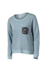 Xhilaration sweatshirt med pailletter