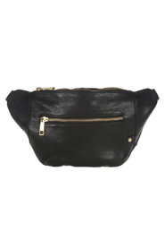 bæltepose i læder