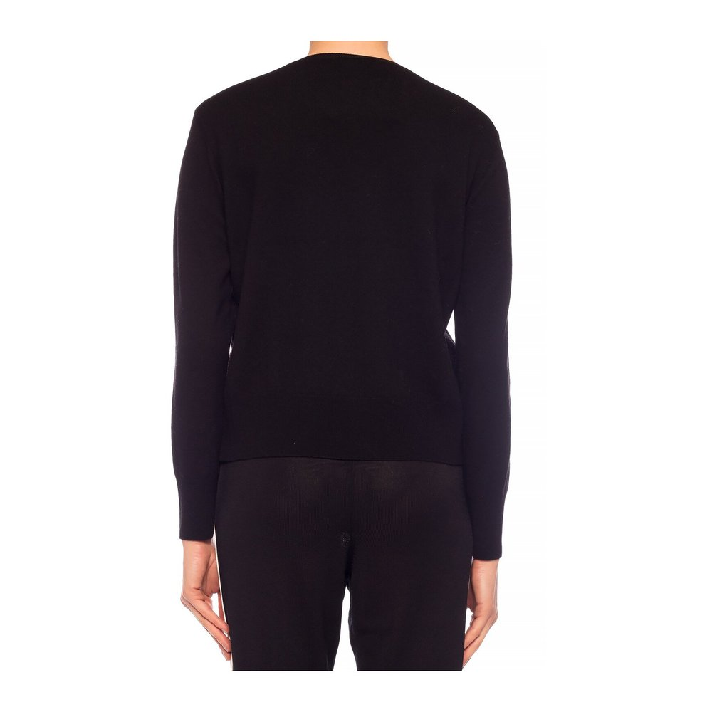 Stella McCartney BLACK Sweater with logo Stella McCartney