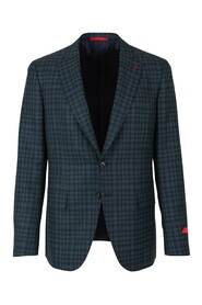 Checkered straight jacket