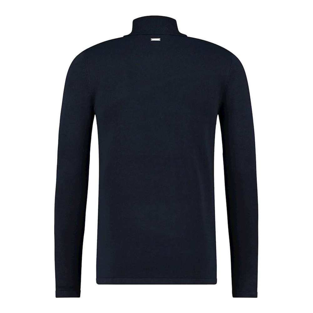 Blue Essentials kol pull | PureWhite | Truien | Heren winter kleren