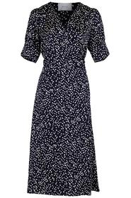 Mari Big Dot Dress