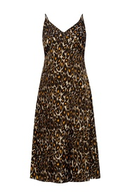 Leopard-printed  dress