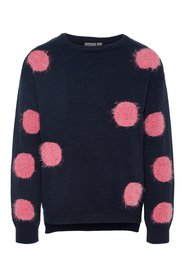 Pullover dotted knit