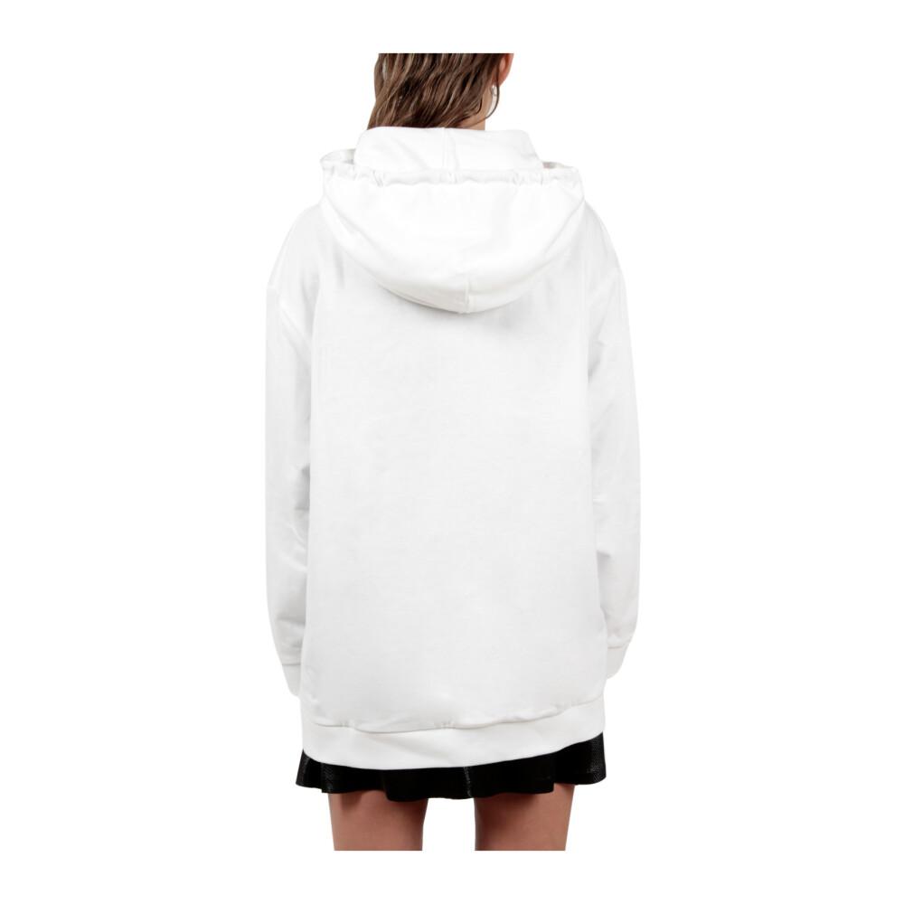 White Hoodie  Alberta Ferretti  Bluzy z kapturem  - Odzież Damska 2020 gV8NB56B