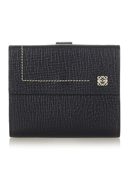 Anagram Leather Small Wallet