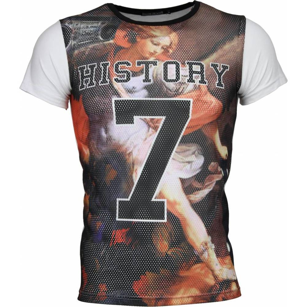 T-shirt Historia 7 Holed