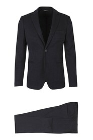 Knitted slim suit