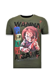 Cool T-shirt - Chucky Childs Play