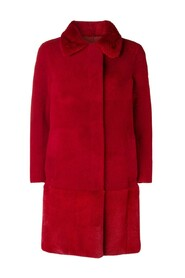 MERINO FELTED-MINK COAT