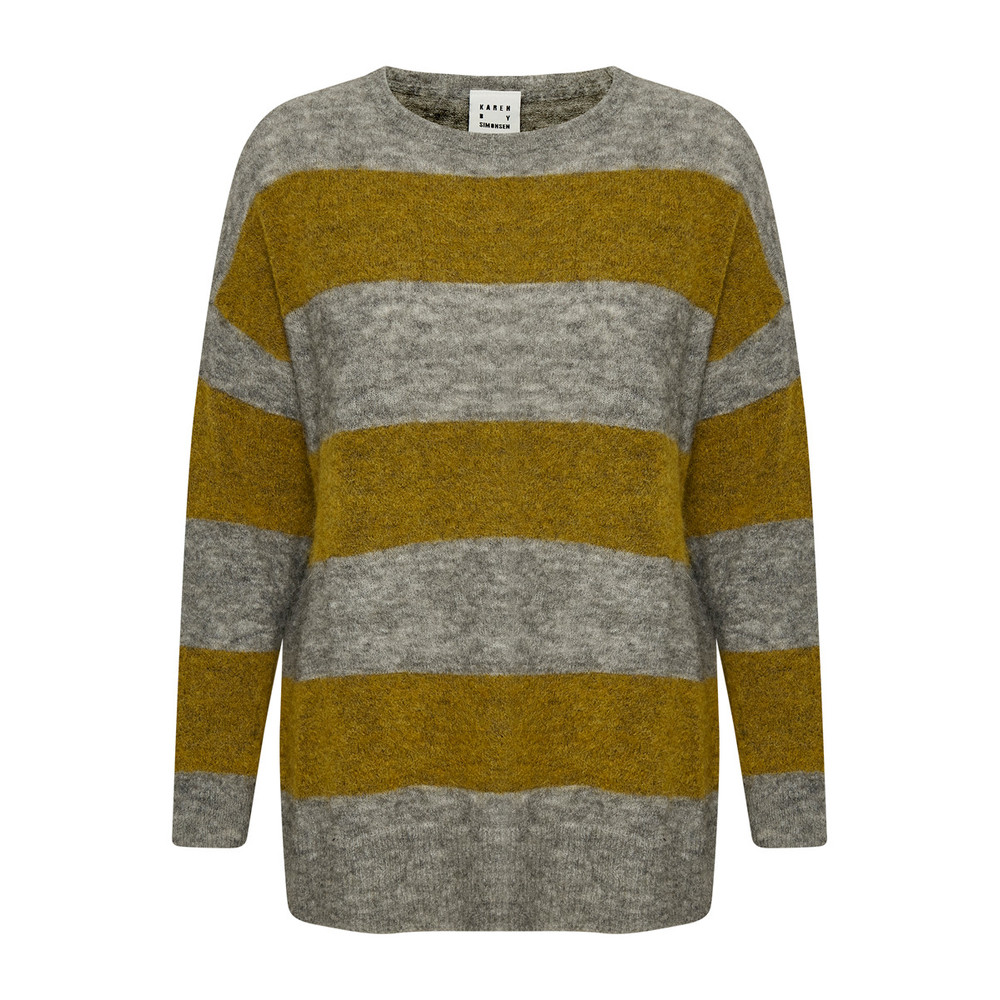 Edition Striped Yellow Knit