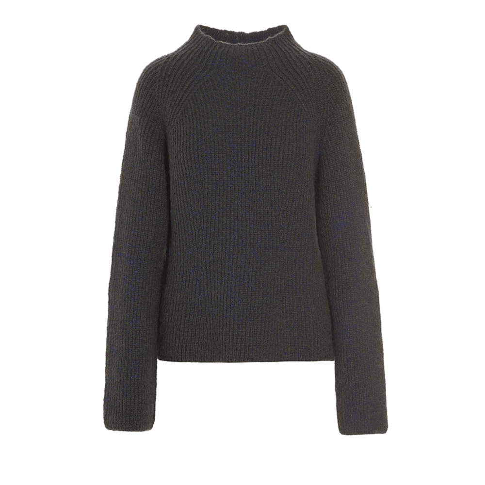 COCOON WOOL BLEND BLOUSE
