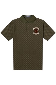 Authentic Embroidered Shield Polo Shirt