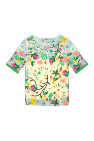 TOP JUNGLE BEATS EMBROIDERY