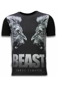 Beast - Digital Rhinestone T-shirt