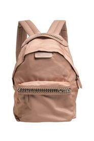 Nylon and Faux Leather Falabella Backpack