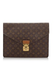 Monogram Porte Documents Senator