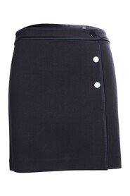 Skirt With Buttons Embellishments