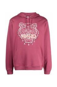 hoodie à motif brodé