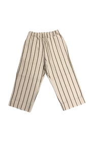 VERTICAL STRIPED OVER PANTS