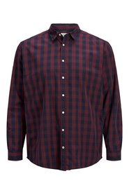 Plus size Shirt Gingham check
