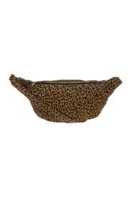 Beltveske med leopardmønster