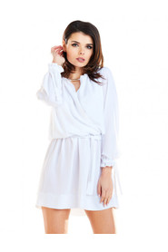 Sukienka z długimi rękawami A268