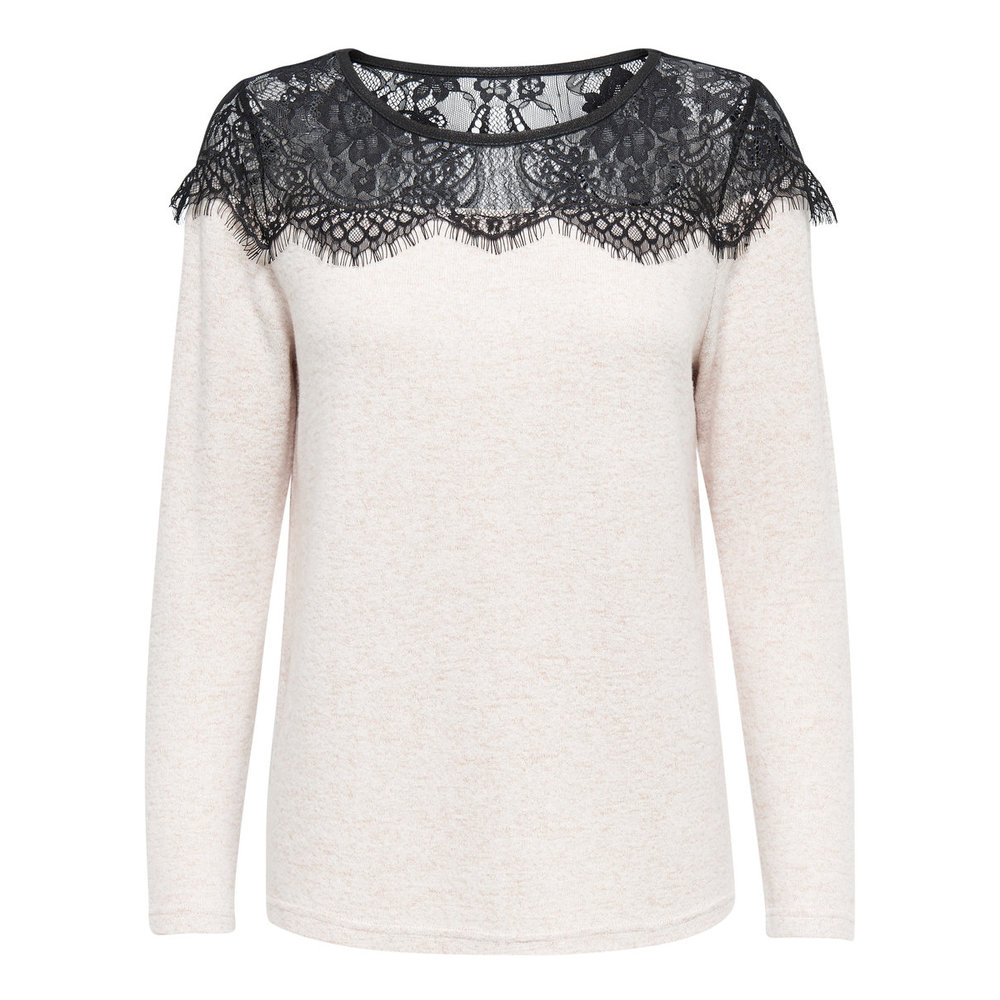 Knitted Pullover Lace detail