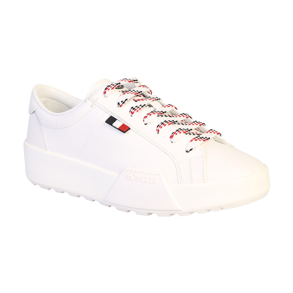 White Lace up sneakers | Moncler | Sneakers | Men's shoes