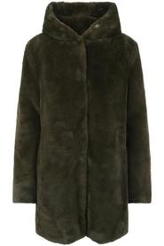 Chloe Hood Fake Fur Jacket Jacket